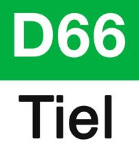 Logo D66 Tiel